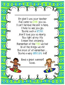end of the year poem from teachers by alyssa malave tpt 788 | original 1878290 1