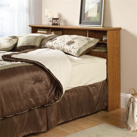 full bed with bookcase headboard orchard hills full queen bookcase headboard 401294