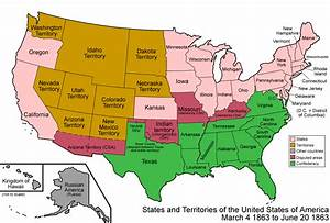 Territorialism In The U S   1789