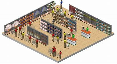 Supermarket Layout Business Virtual Knowledge Matters Literacy