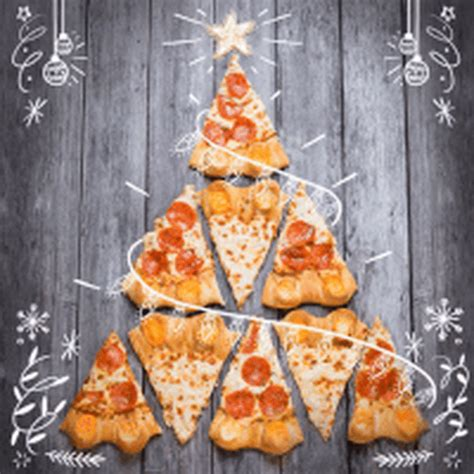 pizza christmas tree lizardmedia co