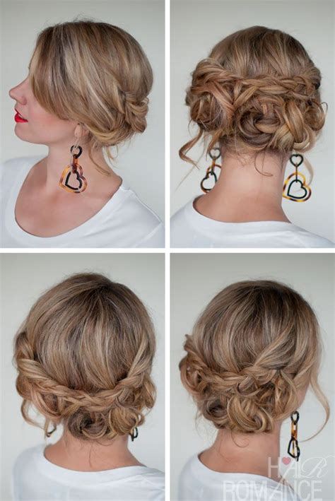 Easy Do It Yourself Updo Hairstyles by Easy Do It Yourself Updos For Hair Hairstyle Ideas