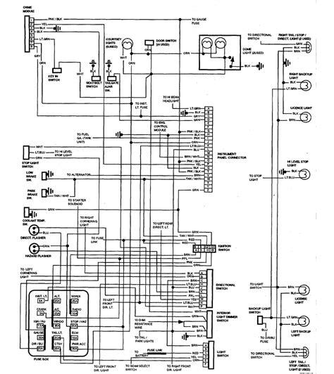87 El Camino Wiring Diagram 1987 chevrolet el camino wiring diagram part 1 61803