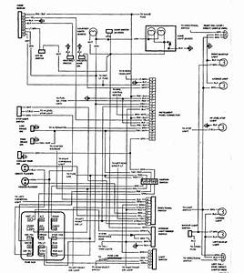 1987 Chevrolet El Camino Wiring Diagram Part 1  61803