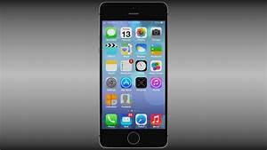 Iphone 5S Black 3D Model OBJ BLEND - CGTrader.com
