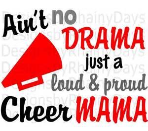 Proud Cheer Mom SVG