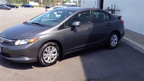 2012 Civic Lx by 2012 Honda Civic Lx Auto One Owner With Spoiler