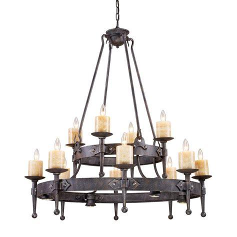 lighting fixtures for kitchens titan lighting cambridge 12 light moonlit rust ceiling 7030