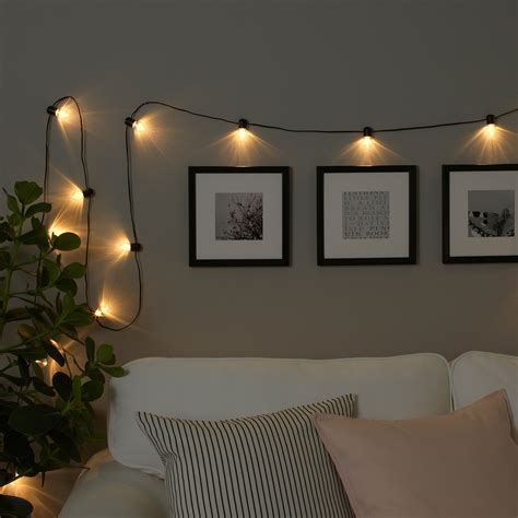 Led Lights For Room Ikea by Ikea Bl 214 Tsn 214 Led String Light With 12 Lights Indoor