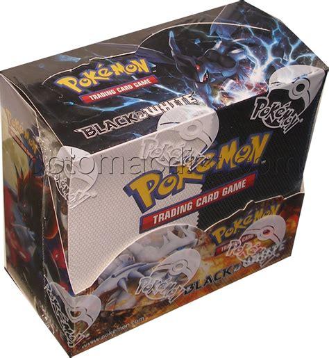 pokemon black white booster  codes box potomac distribution