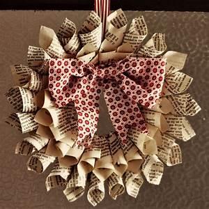 Große Schleife Selber Basteln : weihnachtsdeko selber basteln aus papier mit anleitung ~ Eleganceandgraceweddings.com Haus und Dekorationen