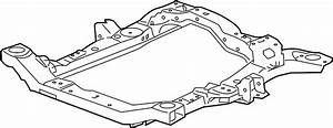 Saturn Outlook Engine Cradle  Suspension  Front