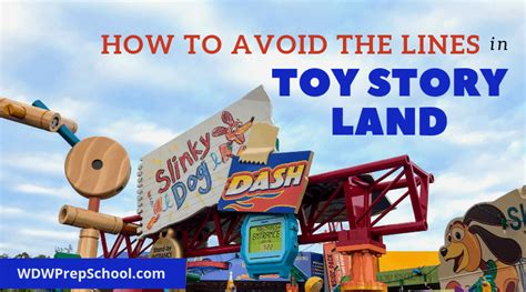 tips avoid lines toy story land wdw prep school