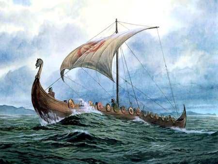 Viking Longboat York by A Viking Longboat Ferrebeekeeper