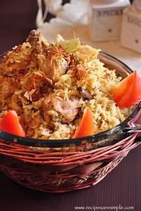 Arabian Biryani - Pressure Cooker Chicken BiryaniRecipes ...