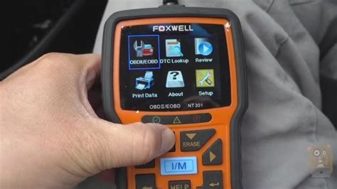 how to reset check engine light how to reset check engine light using foxwell nt301