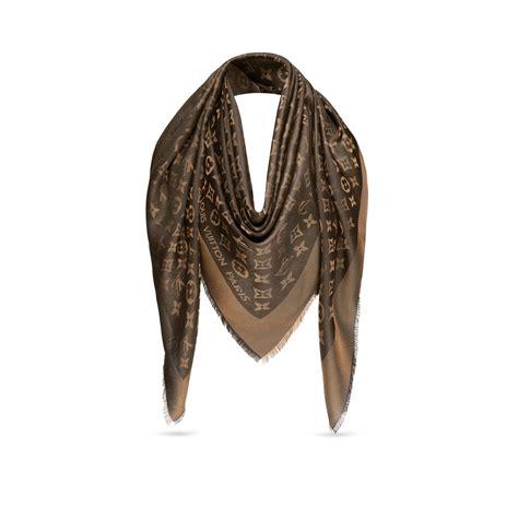 monogram shine shawl accessories louis vuitton