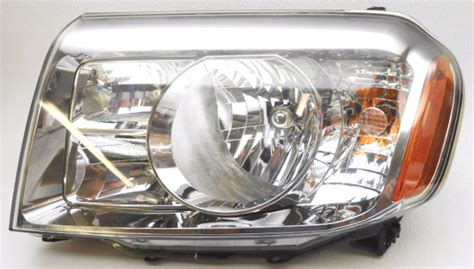 Oem 2009-2011 Honda Pilot Driver Side Halogen Headlight