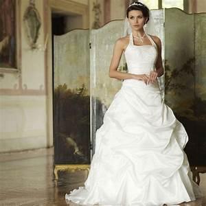 robe de mariage moins cher avec encolure americaine With site de robe de mariée avec bijoux alliance femme