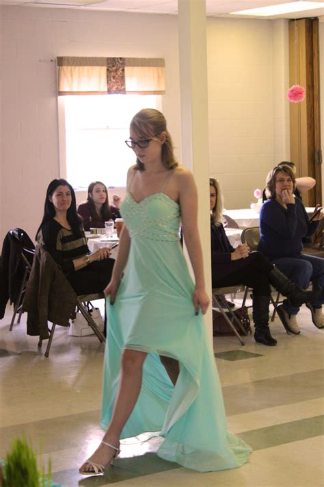 prom dress fashion show  afternoon tea  manchester