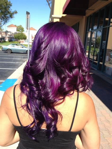 Best 25 Purple Hair Ideas On Pinterest Purple Colour