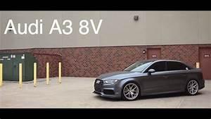 Lowered Audi A3 8v
