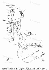 Yamaha Atv 2005 Oem Parts Diagram For Steering Handle