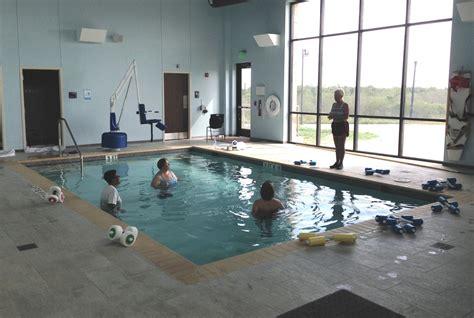 yoakum community hospital aquatic therapy pool guadalupe
