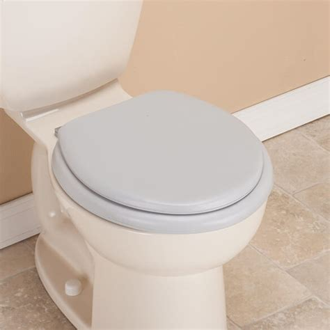 cushioned elongated toilet seat padded toilet seat and lid cushioned toilet seat 6335