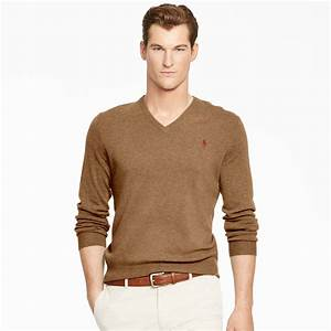 Polo V : polo ralph lauren wool v neck sweater for men lyst ~ Gottalentnigeria.com Avis de Voitures