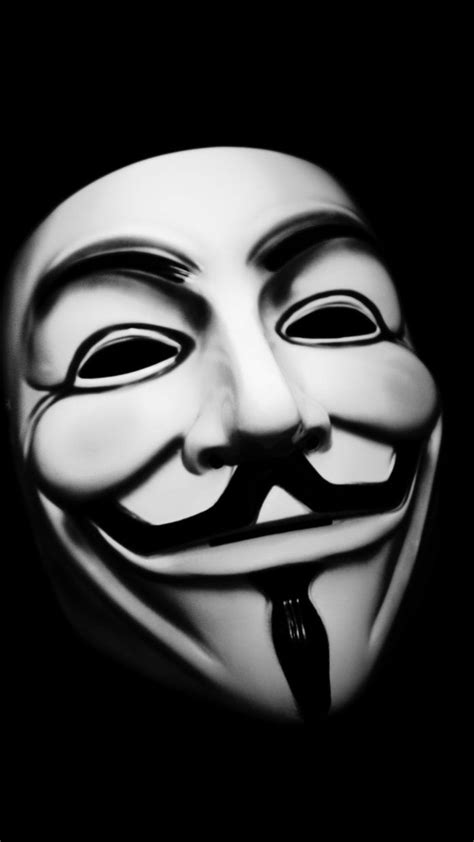 Anonymous Full HD Background for Iphone.   project zorgo