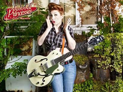 Gretsch Rock Guitar Wallpapers Roll Princess Fond
