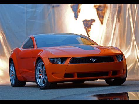 2006 Ford Mustang Giugiaro Concept Front Angle Closeup