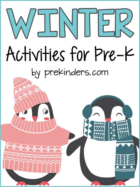 winter theme prekinders 269 | winter activities preschool