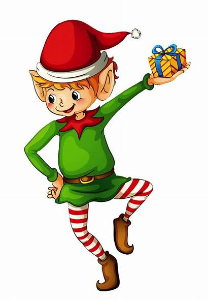 Christmas Clipart Gnome Elves Clip Transparent Garden
