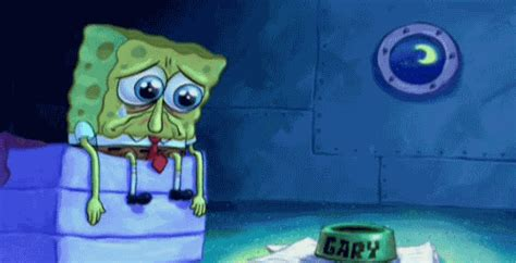 Sad Spongebob Meme - spongebob squarepants crying gif find share on giphy