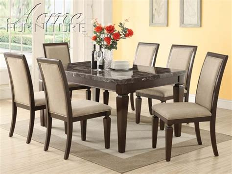 marble top dining room sets marceladick com