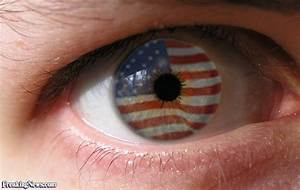 American Flag Eye Pictures