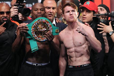 mayweather canelo official proboxing fanscom