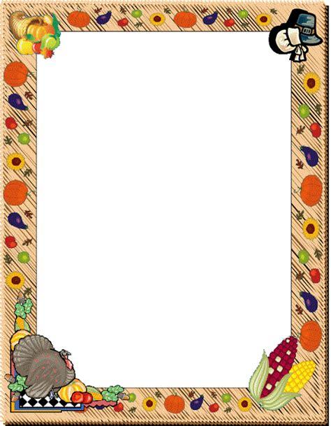 thanksgiving borders  frames   clipart