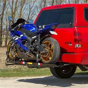 Black Widow Heavy-duty Steel Motorcycle Carrier