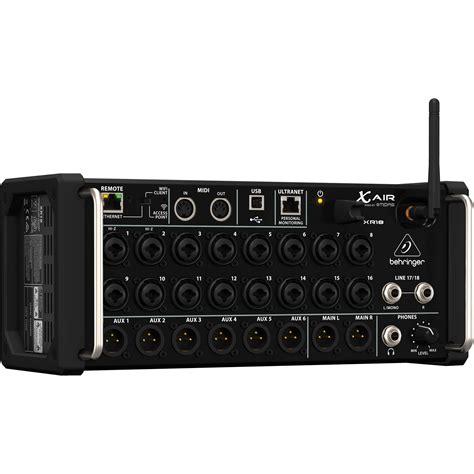 multi bureau behringer x air xr18 18 input digital mixer xr18 b h photo