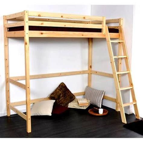 chambre mezzanine ado lit mezzanine pour chambre ado en bois sur maison
