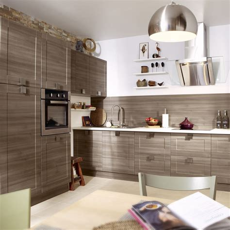 porte de cuisine leroy merlin meuble de cuisine décor chêne blanchi delinia karrey