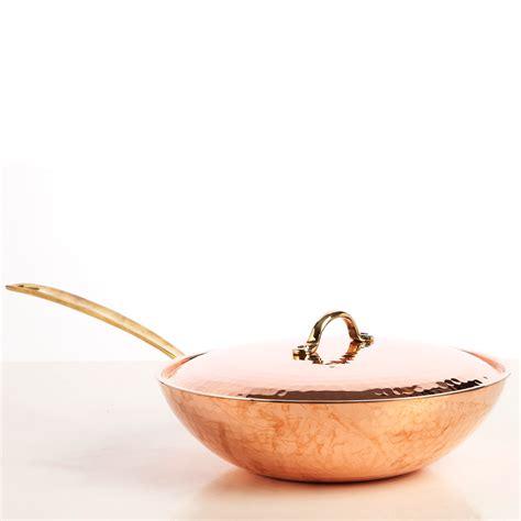 jason  graham handmade copper wok  cm