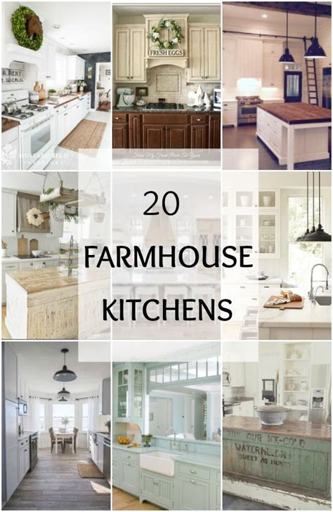Get Look Farmhouse Style by 20 Farmhouse Kitchen Ideas For Fixer Style