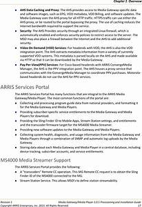 Arris Dcx3635 Cable Set Top Box User Manual Provisioning