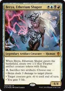 breya etherium shaper from commander 2016 spoiler