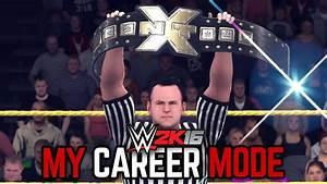 WWE 2K16 My Career Mode - Ep. 21 - 'NXT TITLE MATCH ...