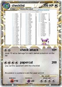 plete pokemon card checklist